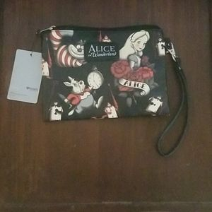 Disney Loungefly Alice in Wonderland Wristlet